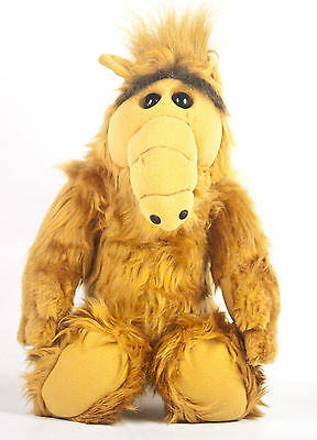 "Coleco Alf 18"" Plush Doll Stuffed Animal Alien Life Form Melmac TV Show Vtg 1986"