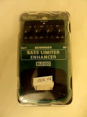 Pedale Effetto Beheringher BASS LIMITER ENHANCER BLE100