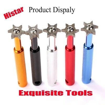 (Silver) - HISTAR Golf Club Groove Sharpener and Cleaner Tool with 6 Heads