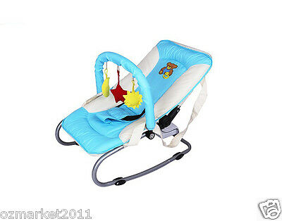Fashion Sky Blue Security Multi-Purpose Baby Swing Chair/Baby Rocking Chair