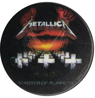 Official Metallica Master of Puppets 1 inch Button Pin Badge