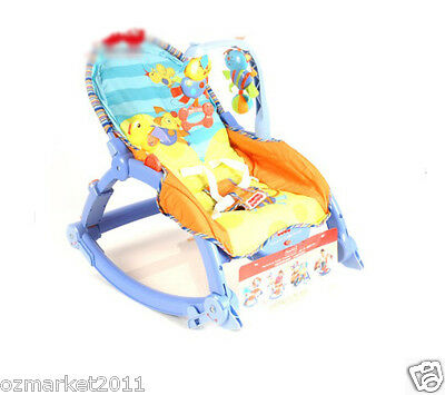 Fashion Security Blue Baby Swing Chair/Rocking Chair/Deck Chair