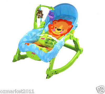 Fashion Green Security Baby Swing Chair/Rocking Chair/Deck Chair