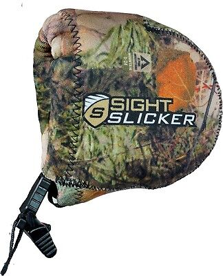(Alpine Mountain Camo) - SightSlicker - Water-Resistant Archery Sight Cover