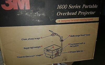 3M 1600 (1600 Series) Overhead Projector**** **Brand New in Box**