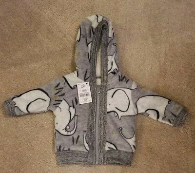 next baby boy elephant jacket/coat 6-9 months