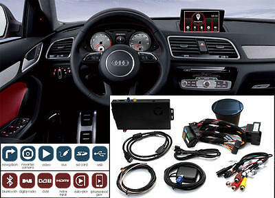 ADAPTIV Audi Q3 from 12 MMI colors 6.5 web surfing Bluetooth iPhone USB with AUX