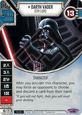 Star Wars Destiny: Darth Vader (Awakenings 10)  Legendary
