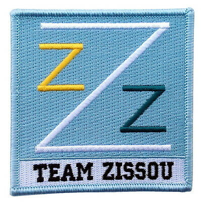 Iron on Patch Life Aquatic Team Zissou Shirt Logo Embroidered Costume Cosplay
