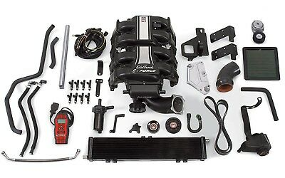 Edelbrock 1584 E-Force Street Legal Supercharger Kit Fits 11-14 F-150
