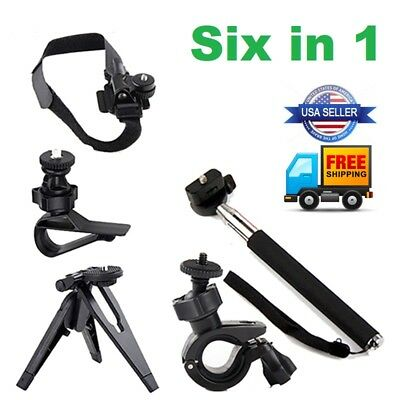 For Go Pro Hero Camera Accessory Kit Ultimate Combo Accessories Action Mounts