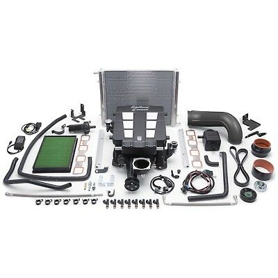 Edelbrock 1538 E-Force Street Legal Supercharger Kit Fits 09-12 1500 Ram 1500