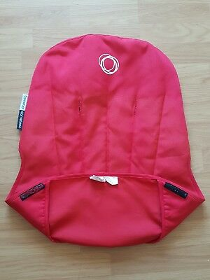 Bugaboo Cameleon 1 2 Seat Liner Canvas Red Tailored Fabric