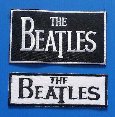 2 LOT THE BEATLES ROCK N ROLL Iron Or Sewn On Patches Free Ship