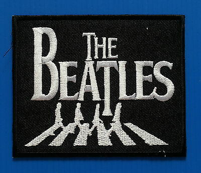 """""""THE BEATLES""""  R&R BAND FOREVER Iron Or Sewn On 4 Inch Patch Free Ship"""