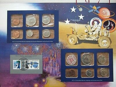 1971 US Uncirculated Coin Mint Set Collection Postal Commemorative Society