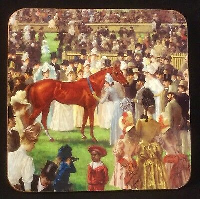 Maxwell & Williams Vintage Melbourne Cup Horse Race Drink Coasters Table Ware