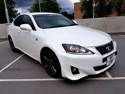 2012 (61 Reg) Lexus IS250 F Sport, Stunning Pearlescent White With Dynamics Pack