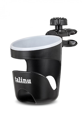 TALINU Universal Cup Holder for pushchairs, strollers, bikes and prams | 2 Year