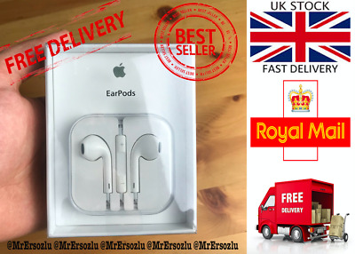 100% Genuine & Original EarPods Headphones for Apple iPhone 6+/6/5 In Retail Box