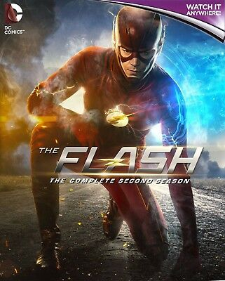 THE FLASH - COMPLETE SEASON 2 * Digital HD Ultraviolet UV Code ONLY * 24/7