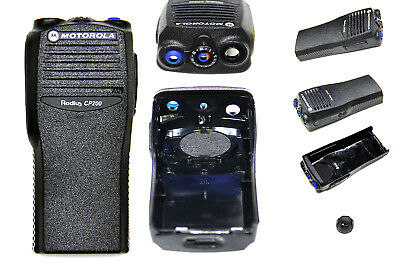 Replacement Front Housing for Motorola CP200 Two-Way Radios (Black)