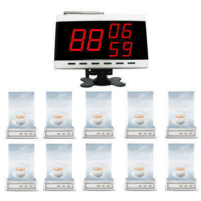 EZISERV wireless call button system for Restaurant,Cafe,Club. PACKAGE