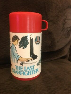 The Last Starfighter Aladdin Thermos 1984