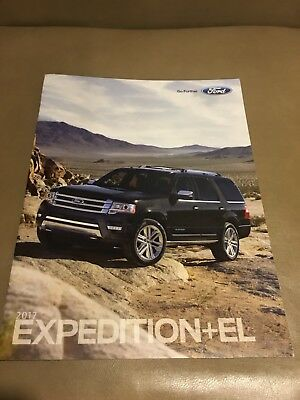 2017 FORD EXPEDITION + XL 28-page Original Sales Brochure