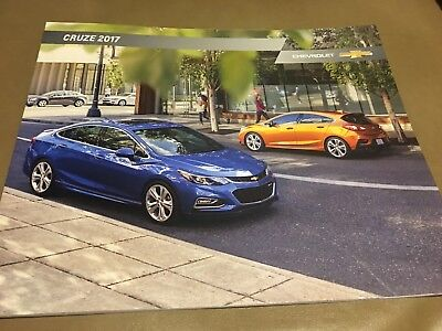 2017 CHEVY CRUZE 36-page Original Sales Brochure