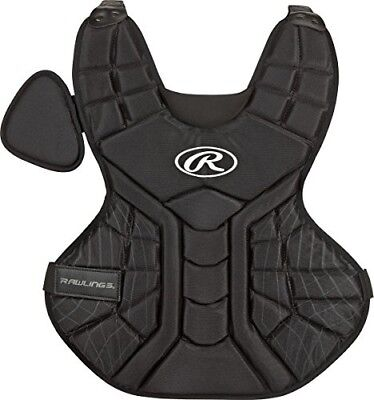 Rawlings Sporting Goods Junior Catchers Players Series Chest Protector, Black