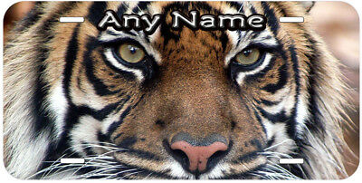 Tiger Any Name Personalized Novelty Car License Plate