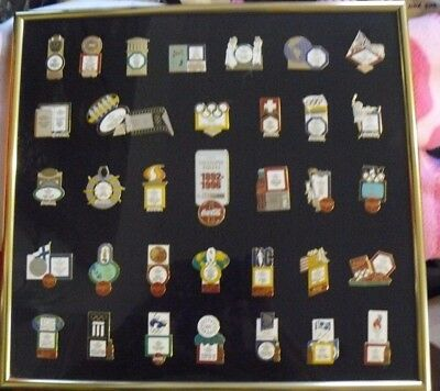 Coca Cola Commemorative Olympic Firsts 1892 -1996 Collector's Edition Pin set
