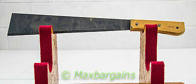 Antique Vintage Machete Corn Knife 15 inch Black Blade Primitive Farm Tool