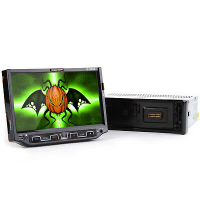"""Single One Din 7"""" Universal Car DVD Player Touch Screen Bluetooth Wifi USB SD o"""