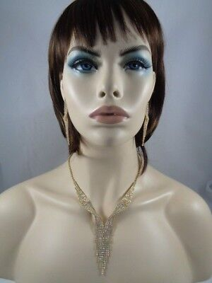 Jewelry-Set-Necklacet+Earringt-GOLD/CRY-Bridal_Fashion  #14