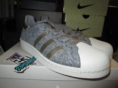 Details about Adidas Superstar PK NM BOOST Noble Metals BB8973 Shell Toe Toes Ultra Grey Gold
