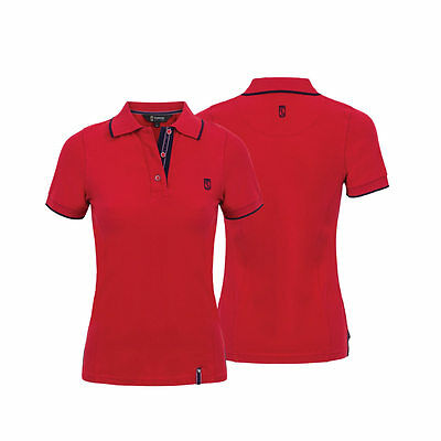 NEW Tredstep Ireland Ladies Polo Shirt -Navy, Red, Pink, Blue, - XS, S, M, L