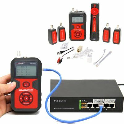 Lan Coax Cable Line Locator Wire Tester Tracker Detect RJ45 BNC VFL Micro USB GT