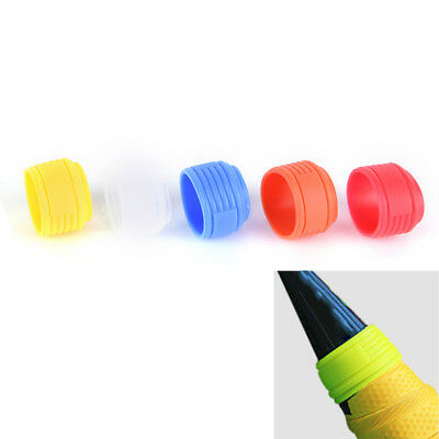 2pcs Tennis Racket Handle Silicone Ring tenis Racquet Overgrip Use Wrap new BH