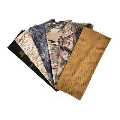 Mesh Face Veil Fast Dry Mask Wargame Military Scarf Outdoor Camouflage ScarvesBH