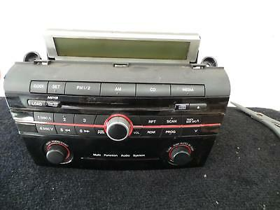 Mazda 3 Radio/cd/dvd/sat/tv 6 Stacker Cd, Bk, 01/04-11/09 04 05 06 07 08 09
