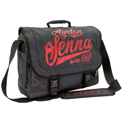 ayrton senna messenger bag born in brasil