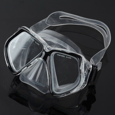 Scuba Dive Snorkeling Purge Mask Dry Goggles Mask & Snorkel Set Equipment