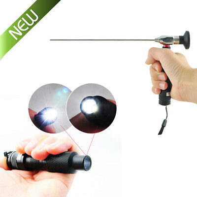 3-10W Portable Handheld LED Cold Light Source Endoscopy Connector FIT STORZ WOLF