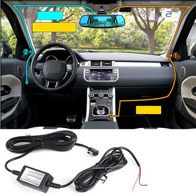 New Car Dash Cam Hardwire charger Kit For Nextbase 101 112 212 302 312 402G  /w