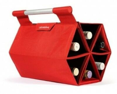 ZEbag® Ultimate Wine Bottle Carrying Case, Carry up to 6 bottles at once, for