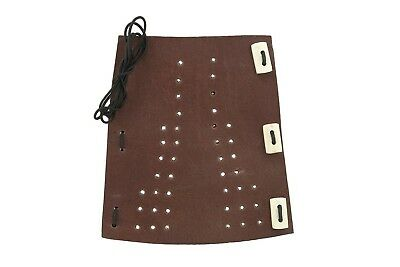 Rose City Archery Soft Leather with Laces/Toggle Premium Arm Guard