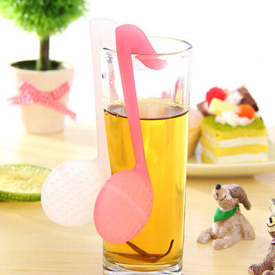 Chic Tea Infuser Loose Tea Leaf Strainer Herbal Spice Silicone Filter Diffuser