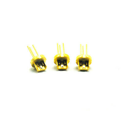 3pcs 650nm 660nm CW 250mw / 350mw Push Red Laser Diode LD Mitsubishi ML101U29-25